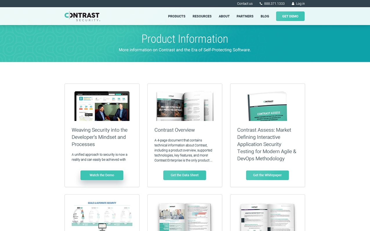 Contrast Product