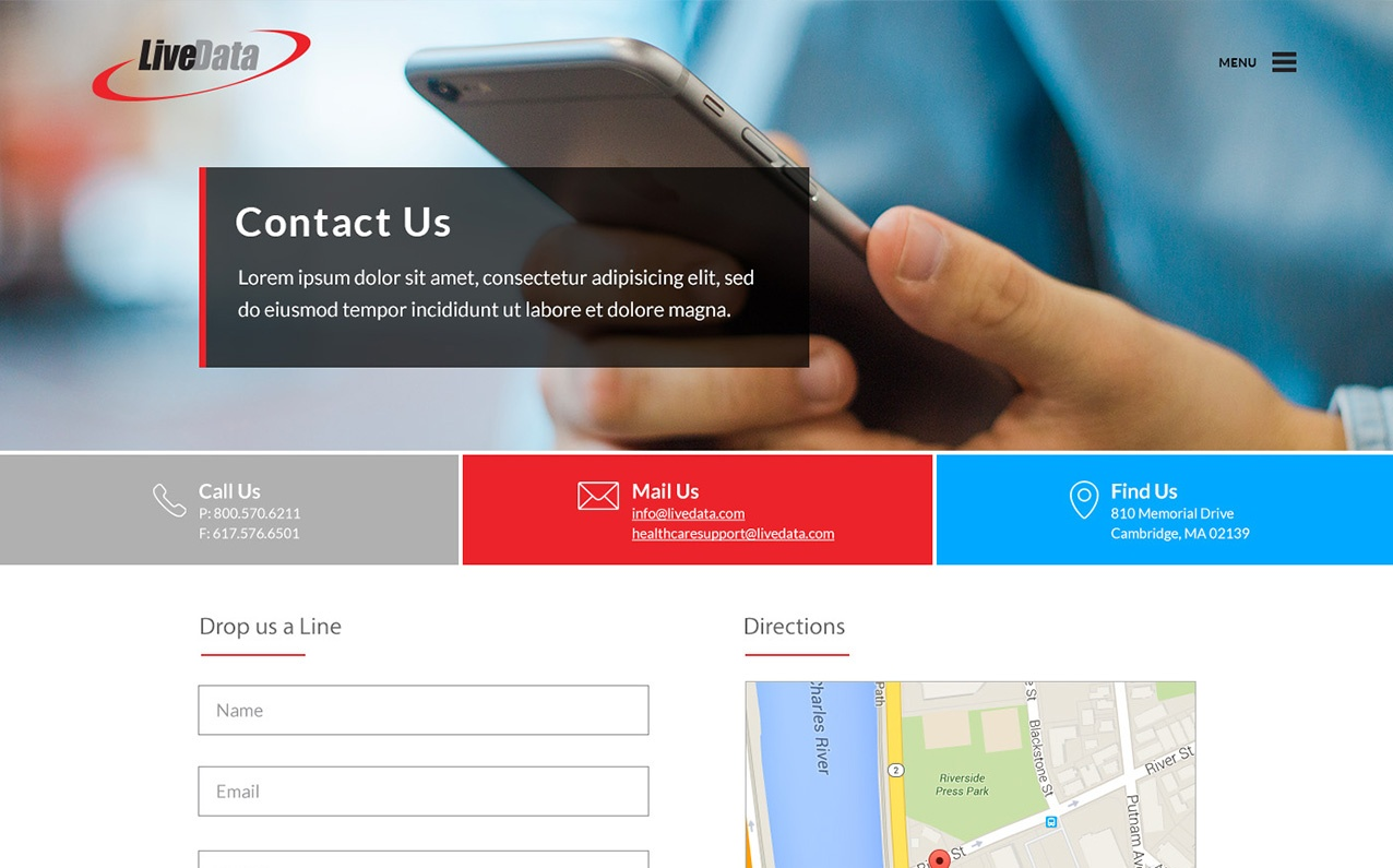 Live Data Contact