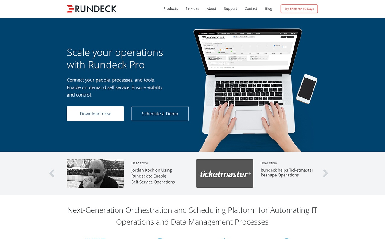 Rundeck Home