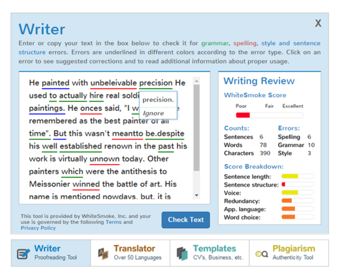 essay errors grammar Read your essay/article in translated language to find the grammatical and syntactical errors google translate is pretty much accurate to help you to rectify major.